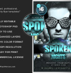 Spoken Nights flyerheroes 3