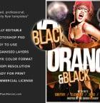 Black & Orange 3