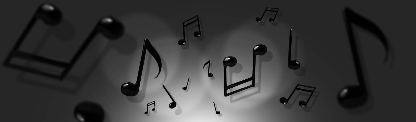 Free 3D Musical Notes Renders Pack