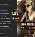 Free Indie Flyer Template 3