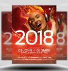 New Year's Eve Flyer Template 1
