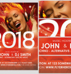 New Year's Eve Flyer Template 2