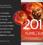 New Year's Eve Flyer Template 3