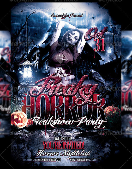 Freaky Flyer Template