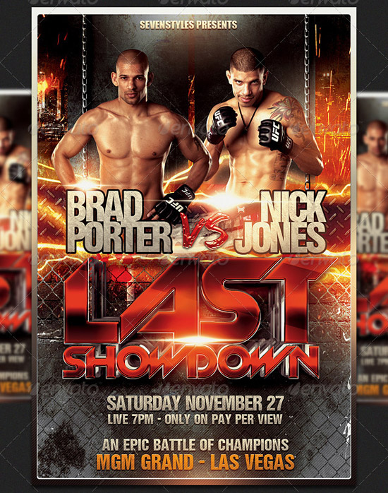 Showdown Flyer Template