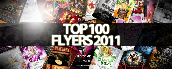 Top 100 Flyer Templates 2011