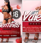 Free Valentine's Flyer Template 2
