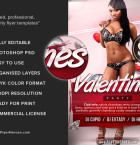 Free Valentine's Flyer Template 3