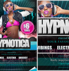 Hypnotica Free Club Flyer Template 2