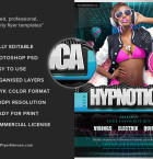 Hypnotica Free Club Flyer Template 3