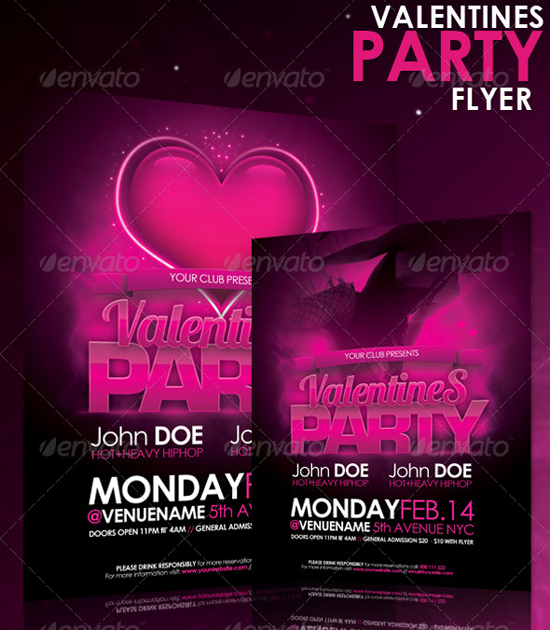 Valentines Flyer Preview