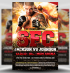 Free MMA Flyer Template 1