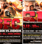 Free MMA Flyer Template 2