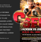 Free MMA Flyer Template 3