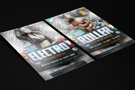 Free Flyer Mock Up
