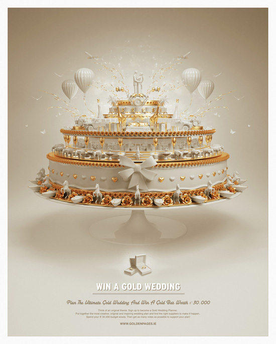 Win a Gold Wedding