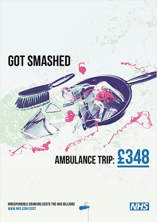 Got Smashed NHS Ad