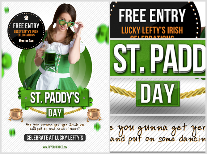 15 free and premium st patricks day party flyer templates in psd