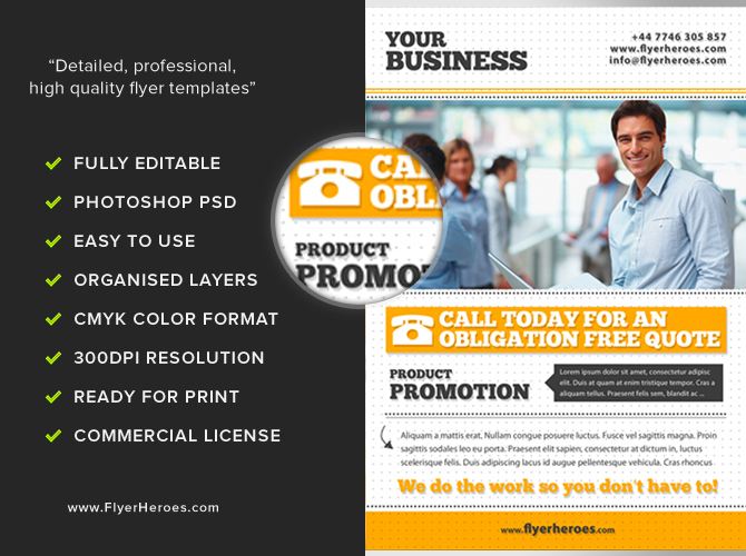 Free Business Flyer Template Flyerheroes