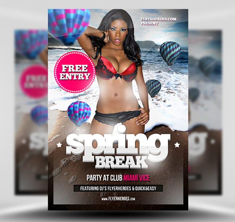 free spring break videos