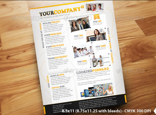 business flyer ads