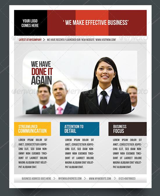 Flyer For Business Roho4senses