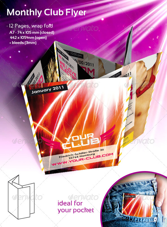 Indesign Club flyer Templates