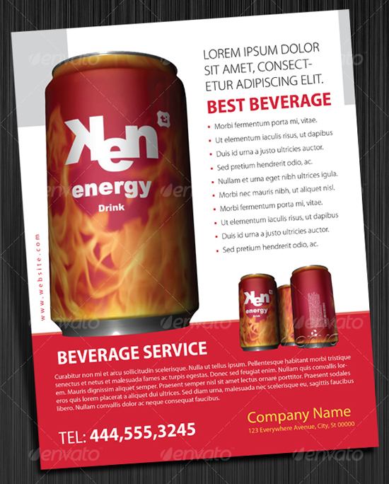 indesign Product Advertisement Template