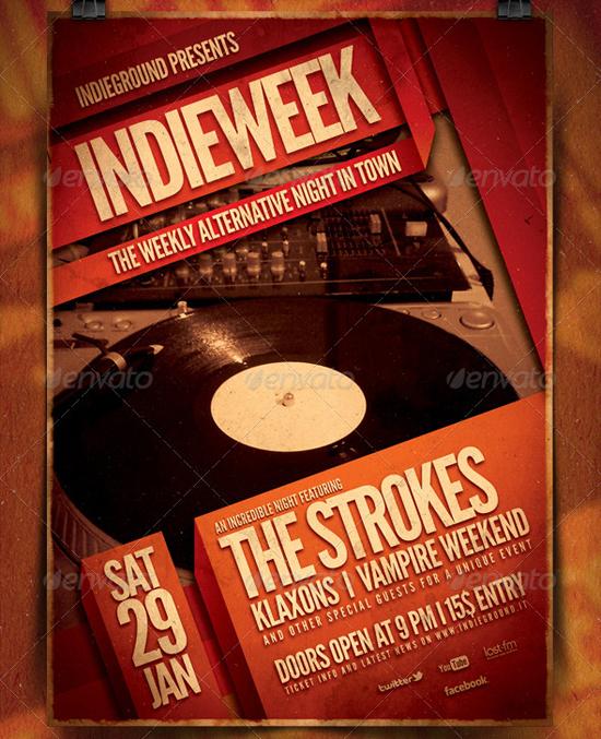 Indieground Indie Flyer Poster Volume 1