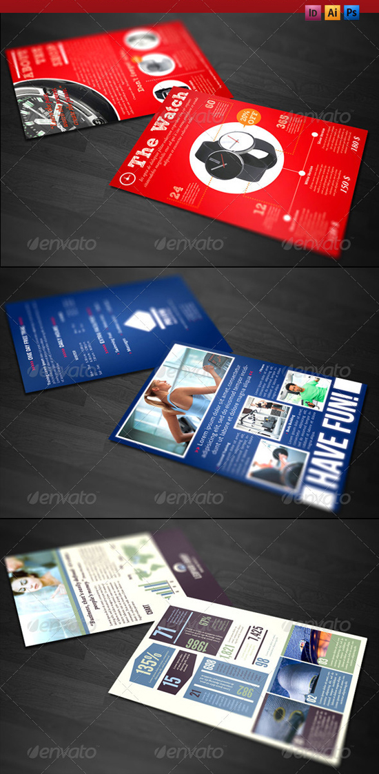 Professional Indesign Flyer Templates