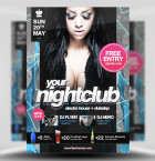 free-nightclub-flyer-template 1