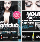 free-nightclub-flyer-template 2
