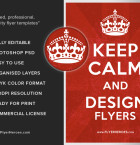 Keep Calm and Design Flyers - FlyerHeroes-com 3