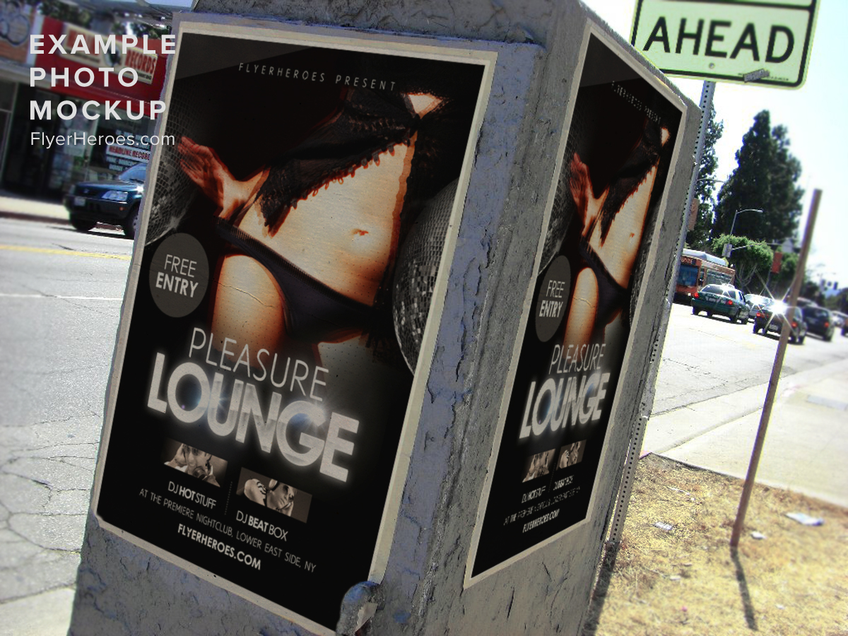 pleasure lounge club flyer template pleasure lounge flyer template is a sexy and seductive yet simple flyer template for upscale bars and nightlife venues
