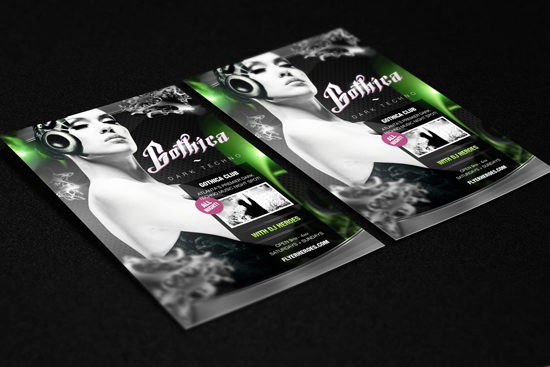 Gothica Flyer Template