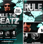 Rule the Beatz Flyer Template 2