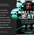 Rule the Beatz Flyer Template 3