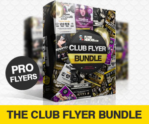 Club Flyer Bundle by FlyerHeroes