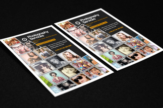 Free Photo Flyer Template