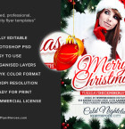Free Xmas Flyer Template 3
