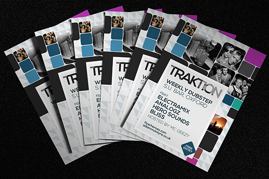 Traktion Free Flyer Template