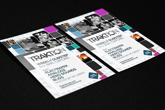 Traktion Flyer Template Free
