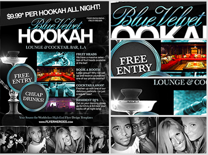 Free Hookah Lounge Flyer Template