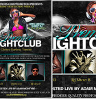 Premier Nightclub Flyer template 2