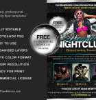 Premier Nightclub Flyer template 3