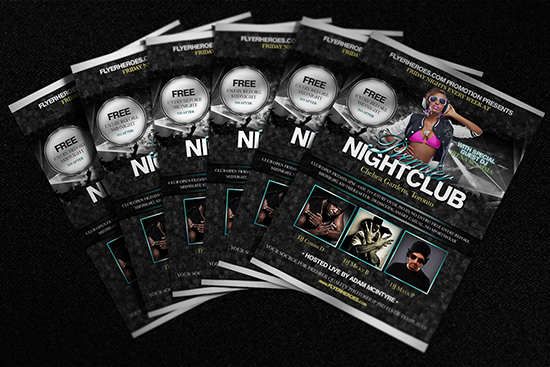 Premier Free Nightclub Flyer Template