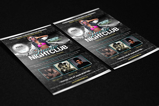 Premier Nightclub Flyer Template