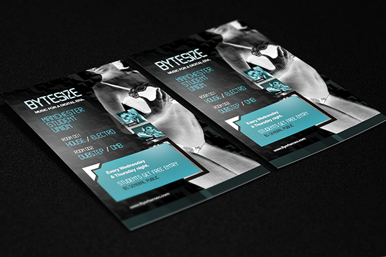 Bytesize Flyer Template