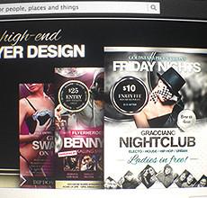 Free Facebook Timeline Cover for Flyer Designers