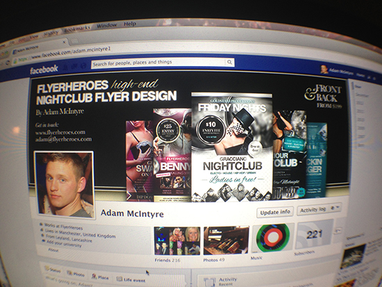 Free Facebook Timeline Cover Template for Designers
